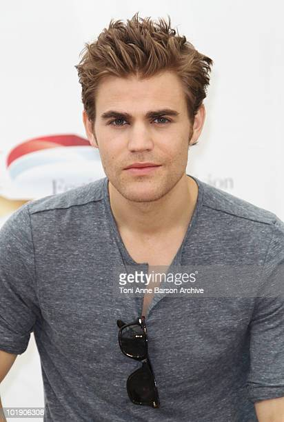 Paul Wesley attends photocall at the Grimaldi Forum on June 8 2010 in MonteCarlo Monaco