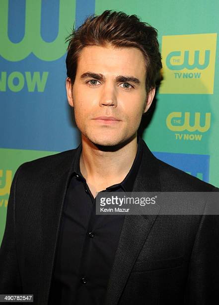 Paul Wesley attends The CW Network's 2014 Upfront at The London Hotel on May 15 2014 in New York City