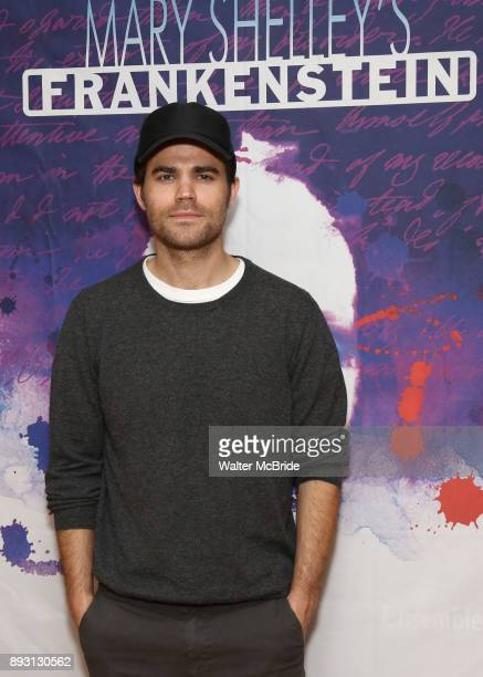 Paul Wesley attends the Meet Greet for the cast of the Ensemble for the Romantic Century production of 'Mary Shelley's Frankenstein' at the Shelter...