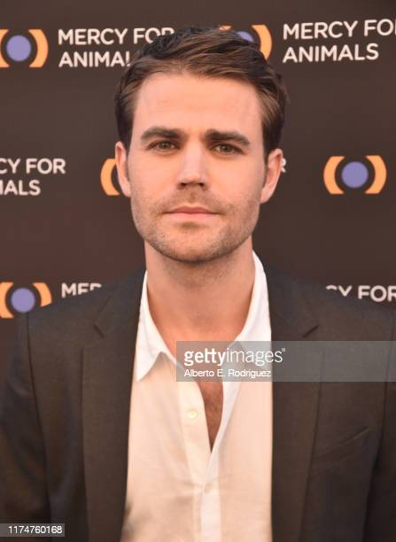 Paul Wesley attends the Mercy For Animals 20th Anniversary Gala at The Shrine Auditorium on September 14 2019 in Los Angeles California