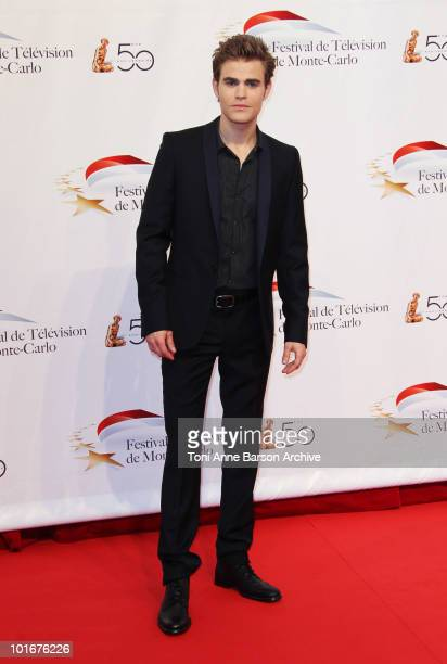 Paul Wesley attends the opening night of the 2010 Monte Carlo Television Festival held at the Grimaldi Forum on June 6, 2010 in Monte-Carlo, Monaco.