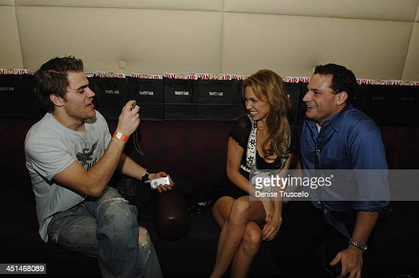 Paul Wesley Marnette Patterson and Matt Weiss during Standing Still Release Party Hosted by Grey Goose Vodka Vanity Fair and Insomnia Entertainment...