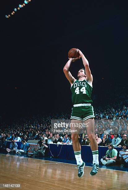 Paul Westphal of the Boston Celtics shoot during an NBA basketball game circa 1975 Westphal played for the Celtics from 197275