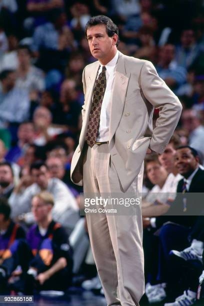 Paul Westphal of the Phoenix Suns looks on on April 19 1994 at America West Arena in Phoenix Arizona NOTE TO USER User expressly acknowledges and...