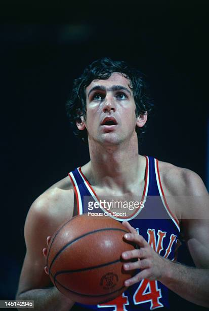 Paul Westphal of the Phoenix Suns looks to shoot a freethrow against the Washington Bullets during an NBA basketball game circa 1978 at the Capital...