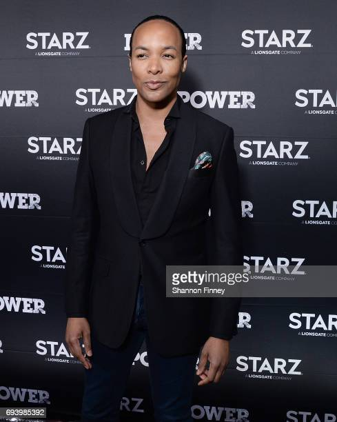Paul Wharton Lifestyle and Fashion Contributor on Washington DC's FOX 5's Good Day DC attends the Season 4 premiere of the STARZ series 'Power' at...