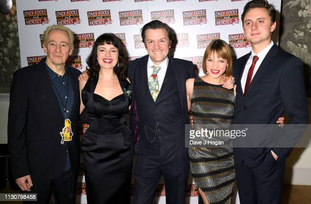 Paul Whitehouse Dianne Pilkington Tom Bennett Pippa Duffy and Ryan Hutton attend the after show party following the opening night of Only Fools and...