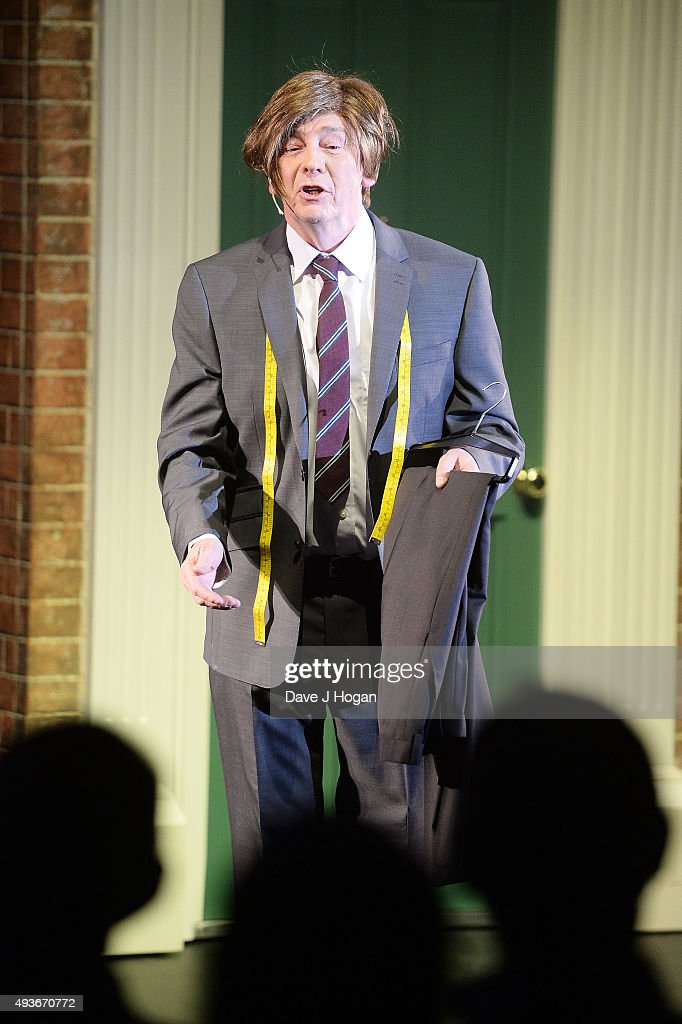 paul whitehouse performs suit you sir during a dress rehearsal for news photo getty images. Black Bedroom Furniture Sets. Home Design Ideas