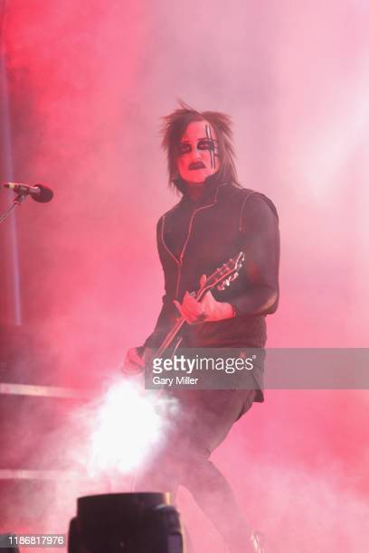 Paul Wiley performs in concert with Marilyn Manson during the second annual Astroworld Festival at NRG Park on November 9 2019 in Houston Texas