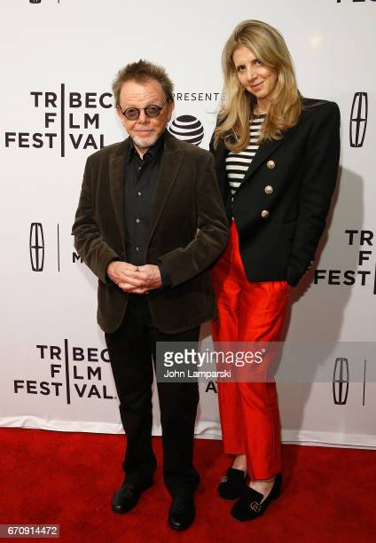 Paul Williams and Tracey Jackson attend Gilbert during the 2017 Tribeca Film Festival at SVA Theatre on April 20 2017 in New York City