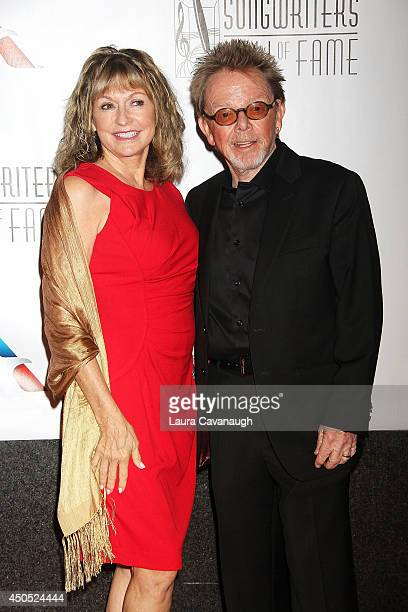 Paul Williams and wife Mariana Williams attend the 45th Annual Songwriters Hall Of Fame Induction And Awards Gala at The New York Marriott Marquis on...