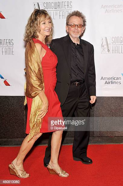 Paul Williams and wife Mariana Williams attend the Songwriters Hall of Fame 45th Annual Induction and Awards at Marriott Marquis Theater on June 12...