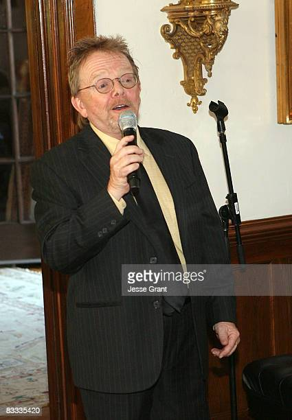 Paul Williams attends the wedding of Michael Feinstein and Terrence Flannery held at a private residence on October 17 2008 in Los Angeles California
