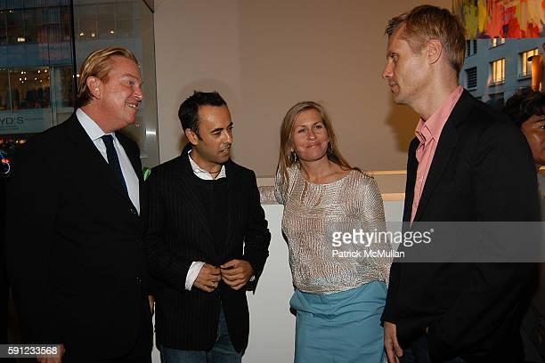 Paul Wilmot Francesca Costa Kim Vernon and Malcolm Carfrae attend Madison Avenue Where Fashion Meets Art Presents Brendan Cass I Love New York at...