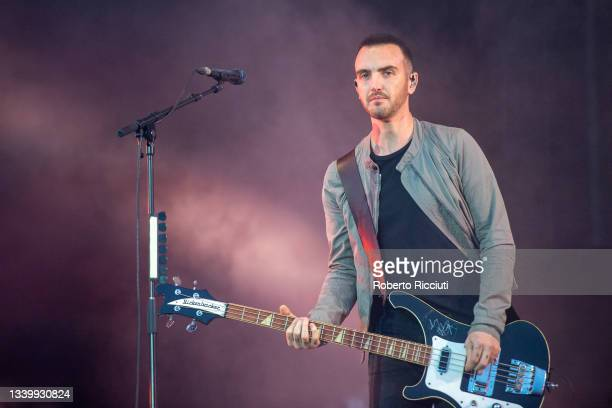 Paul Wilson of Snow Patrol performs on the Main Stage on the third day of TRNSMT Festival 2021 on September 12, 2021 in Glasgow, Scotland.