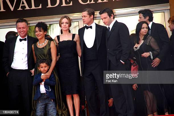 Paul Winterbottom Marianne and Adam Pearl Angelina Jolie Brad Pitt and Dan Futterman