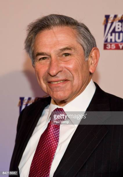 Paul Wolfowitz attends salute to Brit Hume at Cafe Milano on January 8, 2009 in Washington, DC.