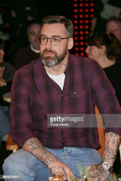 Paul Wuerdig alias Sido attends the TV Show '3 nach 9' at Studio Radio Bremen on December 1 2017 in Bremen Germany