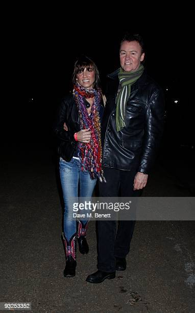 Paul Young and Stacey Young and other celebrities attend the opening night of the 'Winter Wonderland' launch party in Hyde Park which is a major...