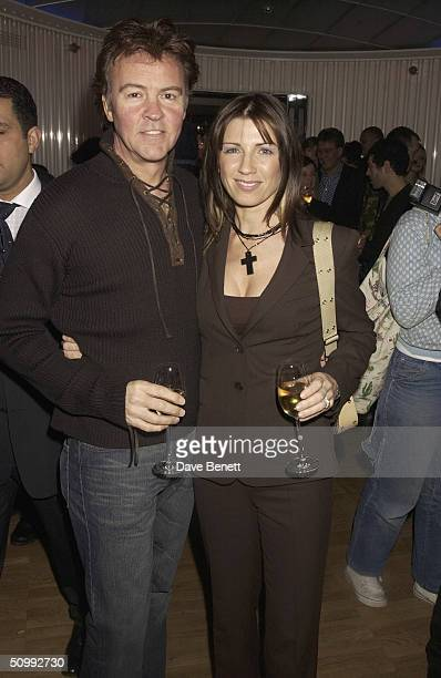 Paul Young and Stacey Young attend the Launch Party for 'Harvey Nichols Perfume' at the fifth floor restaurant of Harvey Nichols department store on...