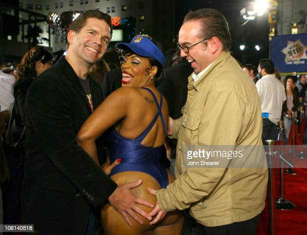 Paul Young producer Niecy Nash and Peter Principato producer
