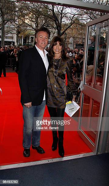 Paul Young Stacey Young attend the 'Heavy Film Premiere at the Odeon West End London England on April 15 2010