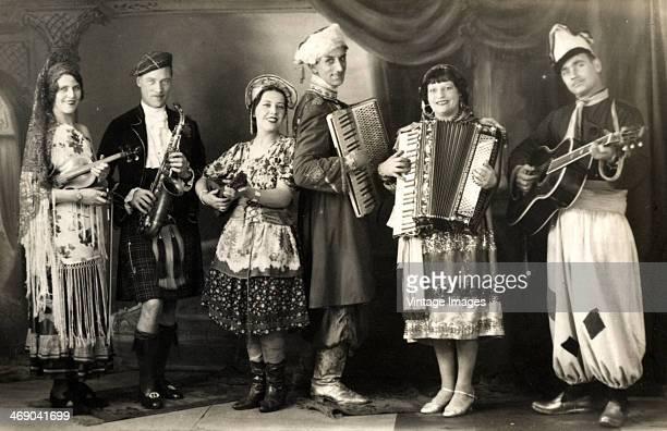Paul Zaharoff and the Internationals UK circa 1910