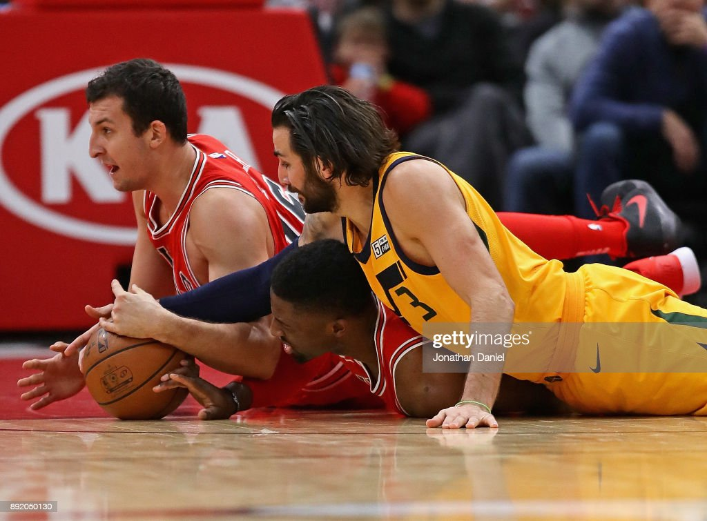 Utah Jazz v Chicago Bulls