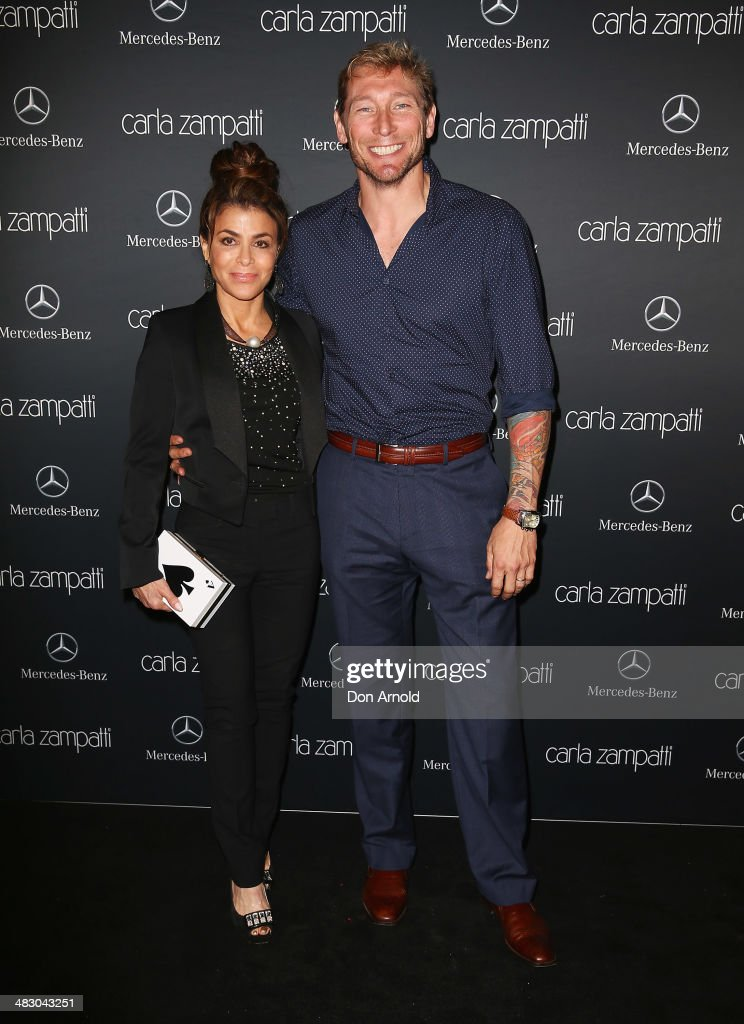 Mercedes-Benz Presents Carla Zampatti - Arrivals - Mercedes-Benz Fashion Week Australia 2014