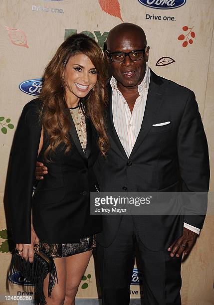 Paula Abdul and Antonio LA Reid attends the FOX Fall EcoCasino Party at Book Bindery on September 12 2011 in Culver City California