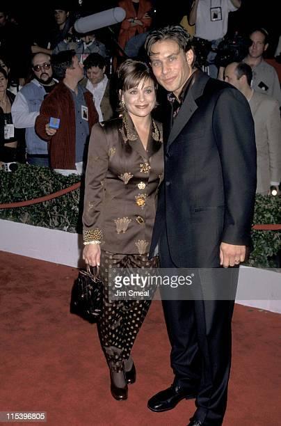 Paula Abdul and Brad Beckerman during Evita Los Angeles Premiere at Shrine Auditorium in Los Angeles California United States