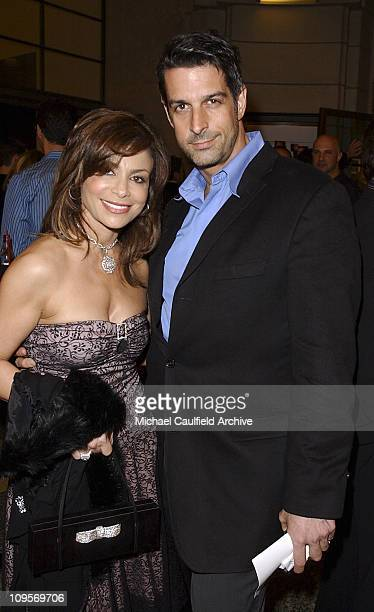 Paula Abdul and Jimmy Demers during The WB Television Network's 2005 All Star Party Inside at Warner Brother's Main Lot in Los Angeles California...