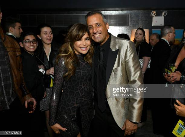 Paula Abdul and Joseph Gatto attend the Impractical Jokers The Movie Premiere Screening and Party on February 18 2020 in New York City 739100