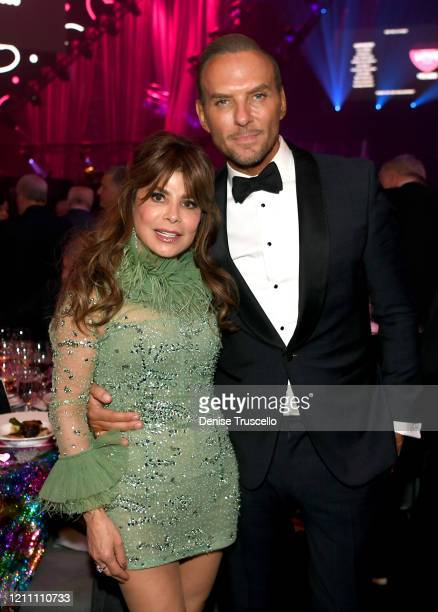 Paula Abdul and Matt Goss attend the 24th annual Keep Memory Alive 'Power of Love Gala' benefit for the Cleveland Clinic Lou Ruvo Center for Brain...