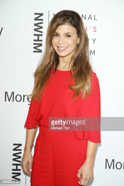 Paula Abdul arrives at the National Women's History Museum's 3rd Annual Women Making History event held at Skirball Cultural Center on August 23,...