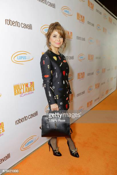 Paula Abdul at Lupus LA's Hollywood Bag Ladies Luncheon at The Beverly Hilton Hotel on November 17 2017 in Beverly Hills California