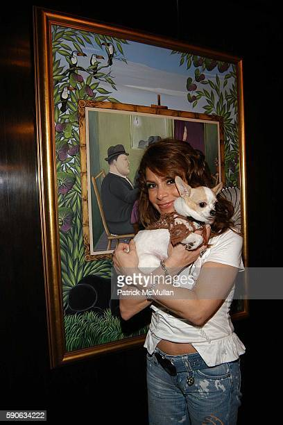 Paula Abdul attends An Evening with Ivana Trump hosted by Nikki Haskell at Nikki Haskell's Penthouse on July 19 2005 in Beverly Hills CA