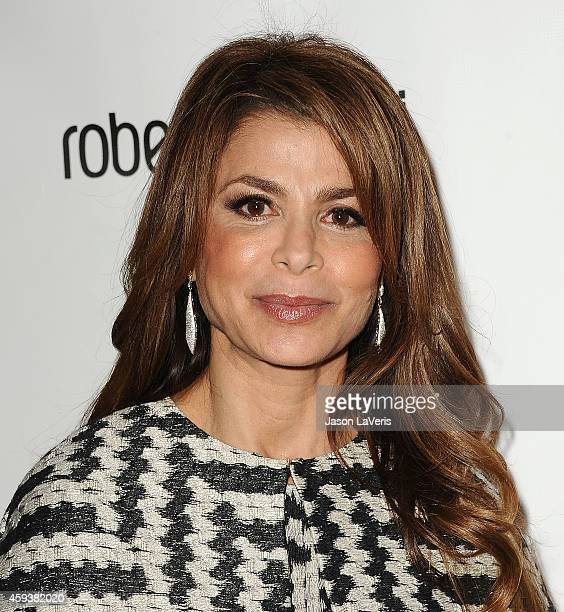 Paula Abdul attends the 12th annual Lupus LA Hollywood Bag Ladies luncheon at The Beverly Hilton Hotel on November 21 2014 in Beverly Hills California