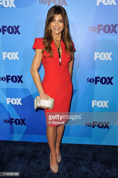 Paula Abdul attends the 2011 Fox Upfront at Wollman Rink Central Park on May 16 2011 in New York City