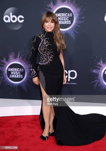 Paula Abdul attends the 2019 American Music Awards at Microsoft Theater on November 24 2019 in Los Angeles California