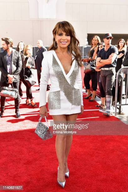 Paula Abdul attends the 2019 Billboard Music Awards at MGM Grand Garden Arena on May 1 2019 in Las Vegas Nevada