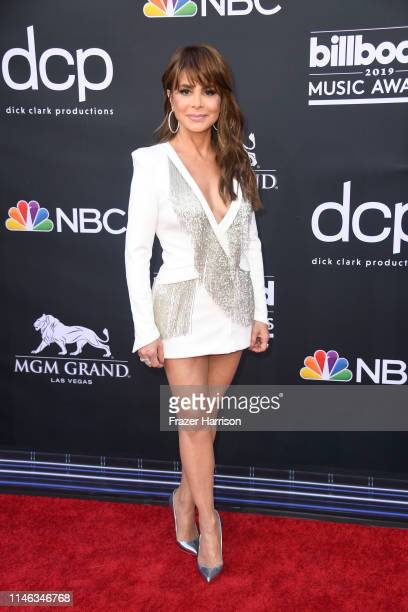 Paula Abdul attends the 2019 Billboard Music Awards at MGM Grand Garden Arena on May 01 2019 in Las Vegas Nevada