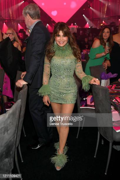 Paula Abdul attends the 24th annual Keep Memory Alive 'Power of Love Gala' benefit for the Cleveland Clinic Lou Ruvo Center for Brain Health at MGM...