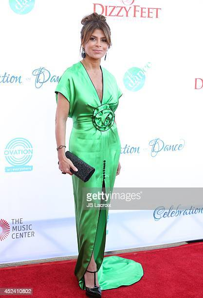 Paula Abdul attends the 4th Annual Celebration Of Dance Gala Presented By The Dizzy Feet Foundation at Dorothy Chandler Pavilion on July 19 2014 in...