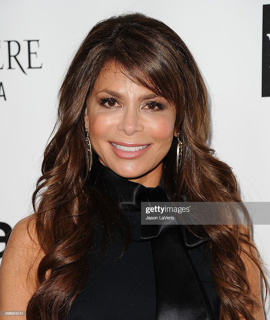 Paula Abdul attends the amfAR Inspiration Gala at Milk Studios on December 12, 2013 in Hollywood, California.