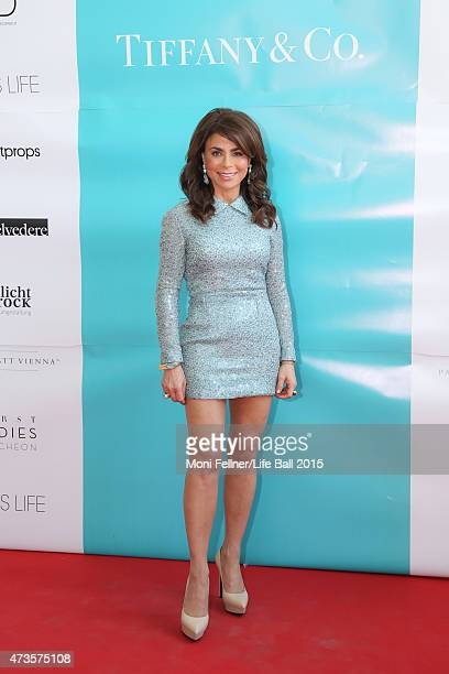 Paula Abdul attends the Life Ball 2015 first ladies lunch at Belvedere Palace on May 16 2015 in Vienna Austria The Life Ball an annual charity ball...