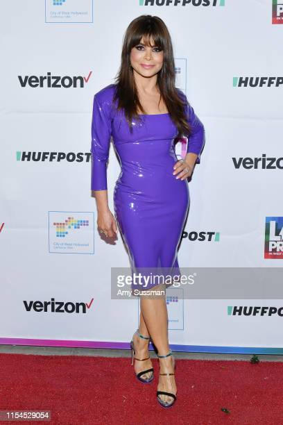 Paula Abdul attends the opening ceremony at LA Pride 2019 on June 07, 2019 in West Hollywood, California.