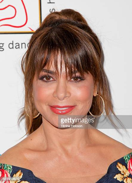 Paula Abdul attends the Professional Dancer Society's annual Gypsy Awards Luncheon at The Beverly Hilton Hotel on April 24 2016 in Beverly Hills...