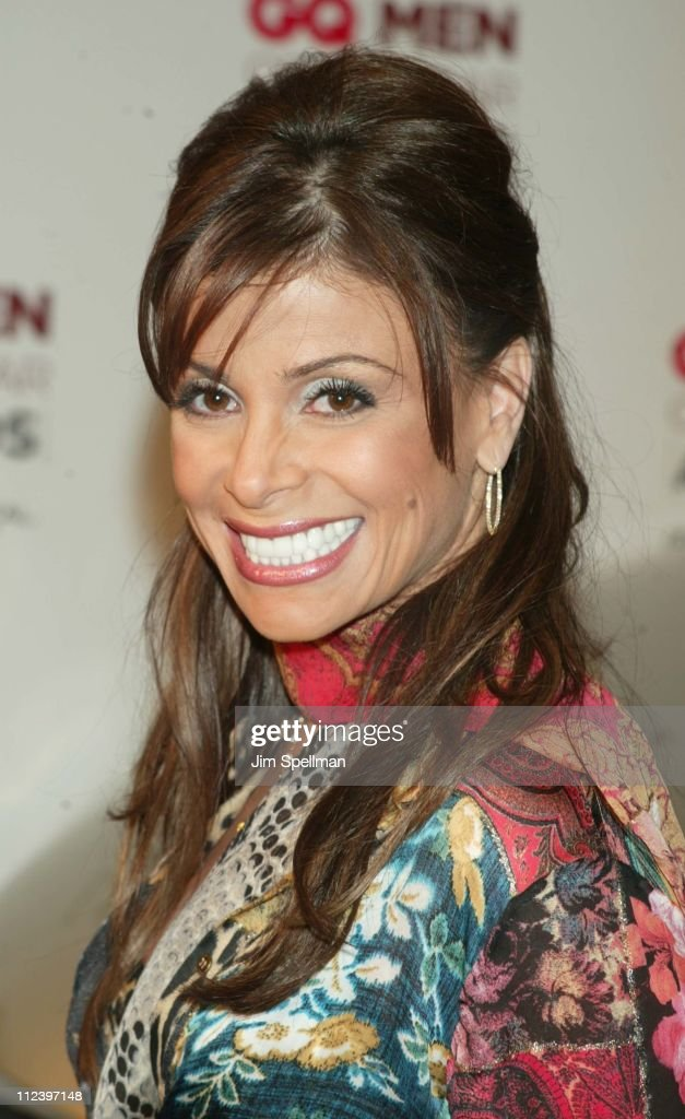 Paula Abdul during 2002 GQ Men of the Year Awards - Arrivals at Hammerstein Ballroom in New York City, New York, United States.