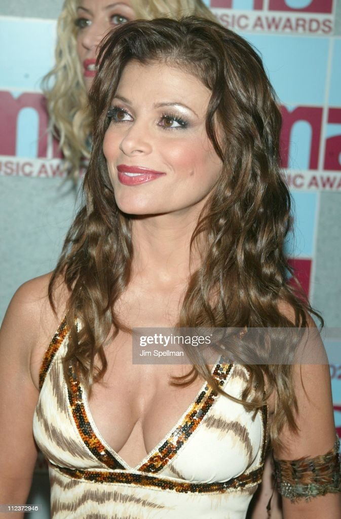 Paula Abdul during 2002 MTV Video Music Awards - Arrivals at Radio City Music Hall in New York City, New York, United States.